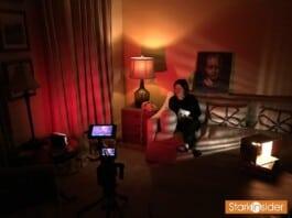 Loni Stark BTS shooting video for Stark Insider