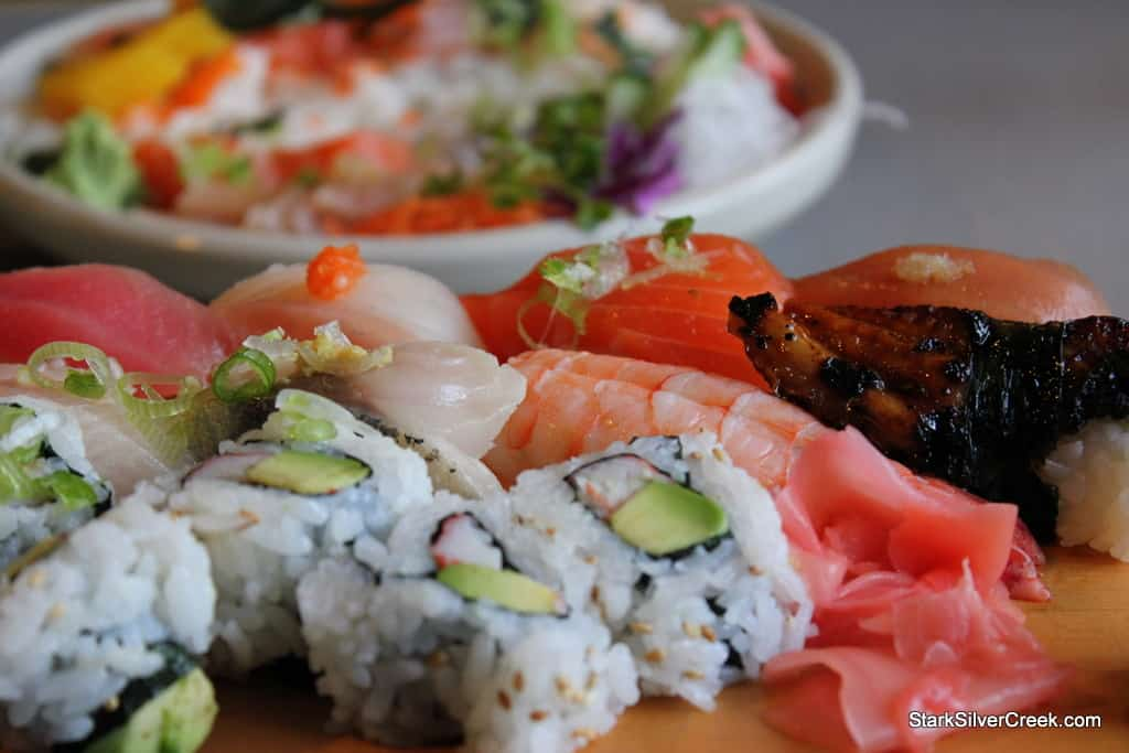 Restaurant Review Sushi California Berkeley Meme man dislikes it because of its taste and the fact that it causes the scrombles and explosive diarrhea. sushi california berkeley