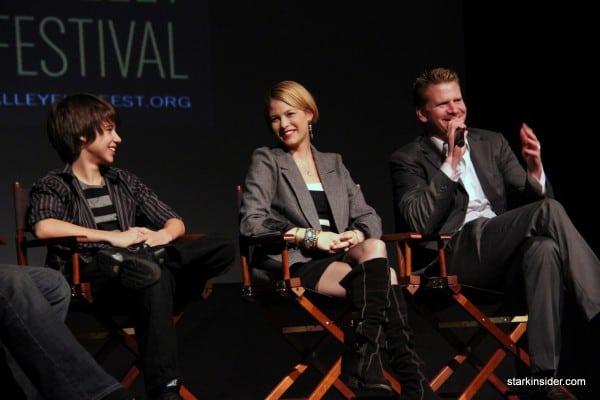 The cast (Uriah Shelton, Nicki Aycox, Dash Mihok) discuss Lifted