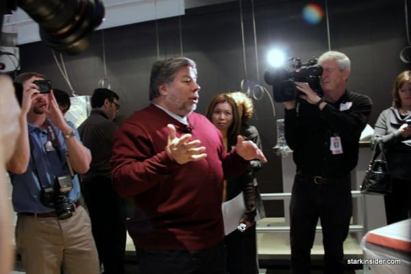 Steve Wozniak meets the press