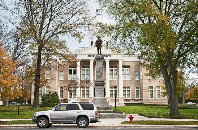 Shelby North Carolina Courthouse