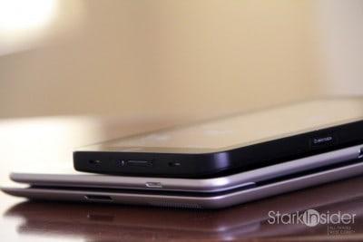 Top to Bottom: Galaxy Tab 7, Galaxy Tab 10.1, Apple iPad 2