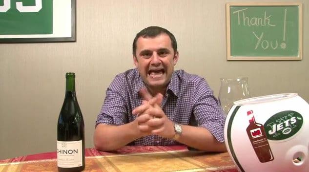 Gary Vaynerchuk announces retirement from online wine video.