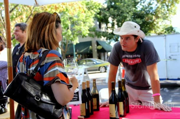 Loni Stark listens to Bob Zucker of Furthermore Wines talk about his passion for Pinot.
