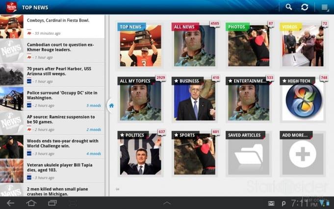 News Republic - Lenovo Tablet