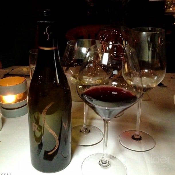 """Robert Sinskey's """"Shiner"""": Pinot Noir, Trotter Cuvee, Vandal Vineyard, Los Carneros, 2000."""