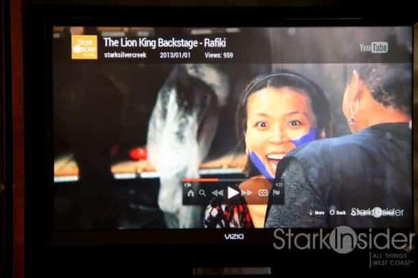 Streaming Stark Insider videos. Where's the popcorn?!