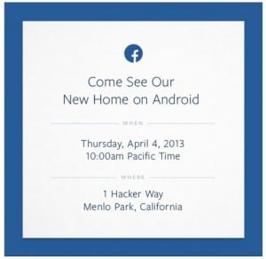 Facebook New Home - Android