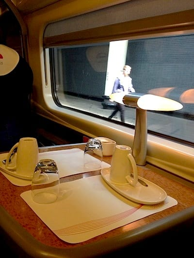 Loved traveling first class on BritRail