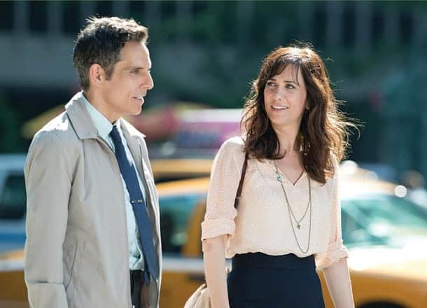 Ben Stiller directs and stars, along with Kristen Wiig, in The Secret Life of Walter Mitty. Slated for a Christmas release, the comedy is scheduled for three screenings at MVFF.
