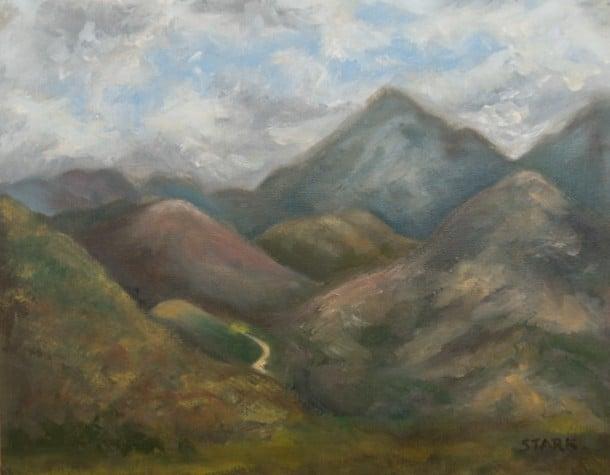 Loreto, Baja California Sur painting, Loni Stark