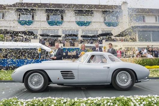 1954 Ferrari 375 MM Scaglietti Coupe - Pebble Beach Concours d'Elegance