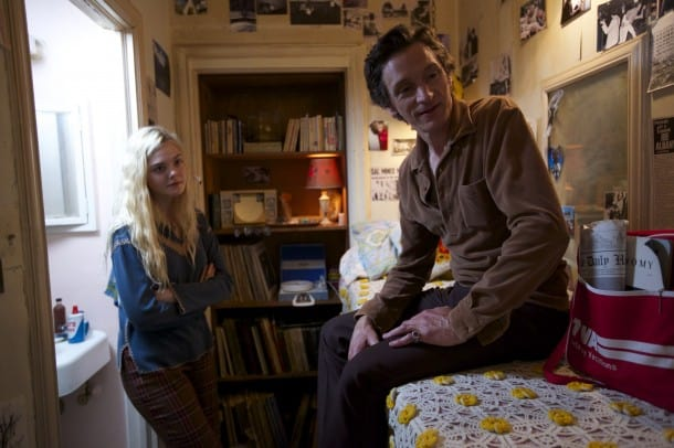 Elle Fanning with John Hawkes in 'Low Down'