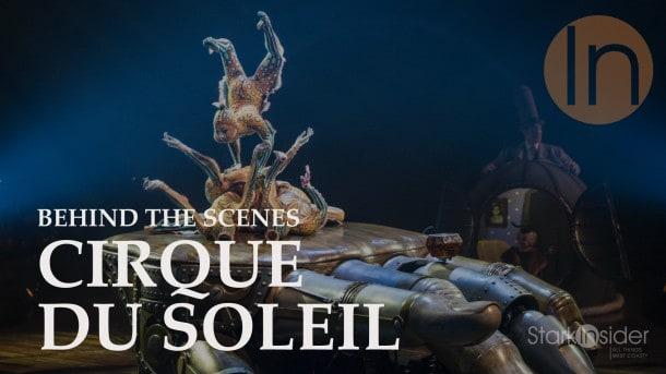 Behind the Scenes at KURIOS by Cirque du Soleil