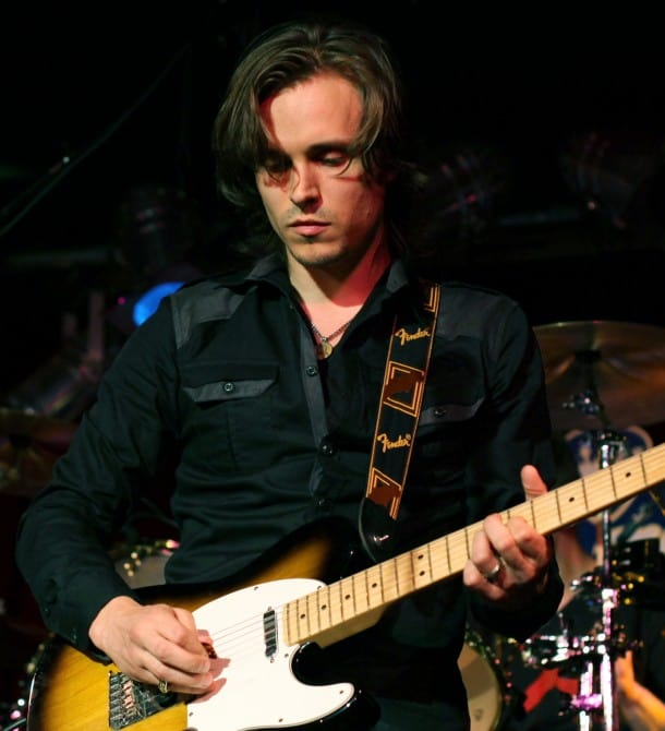 Jonathan Jackson performs live with Enation.