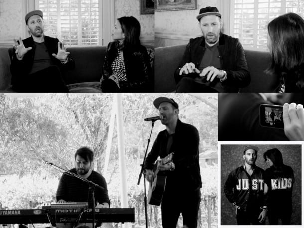 Mat Kearney Interview - Just Kids and Live performance