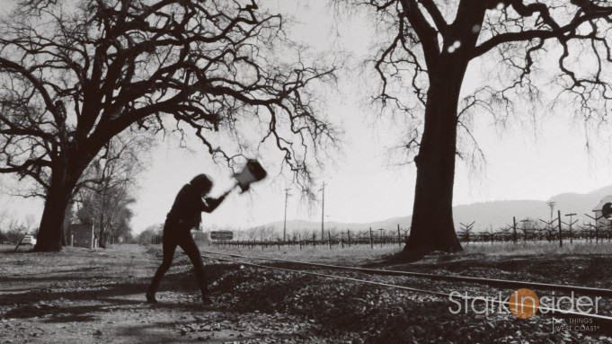 Stark Insider on location shooting in Napa Valley
