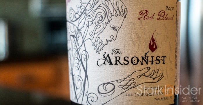 Matchbook - 2012 The Arsonist wine review