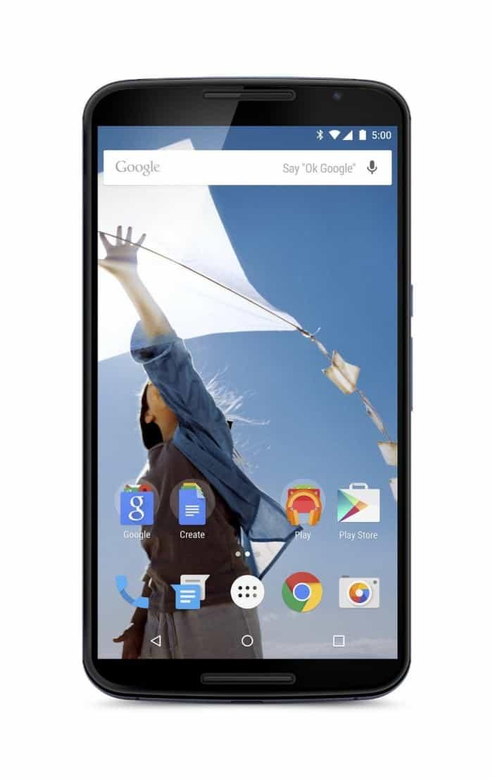 Nexus 6 - Android 6.0 Marshmallow deal
