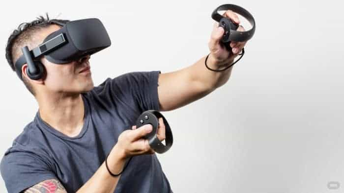 Oculus Rift with Touch Controller