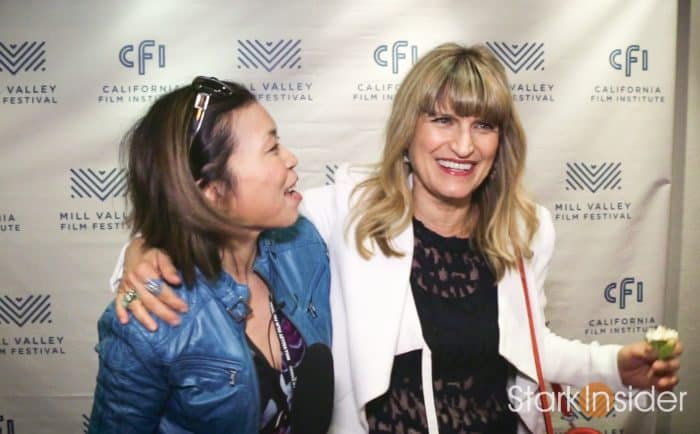 Loni Stark with Twilight director Catherine Hardwicke at Mill Valley Film Festival