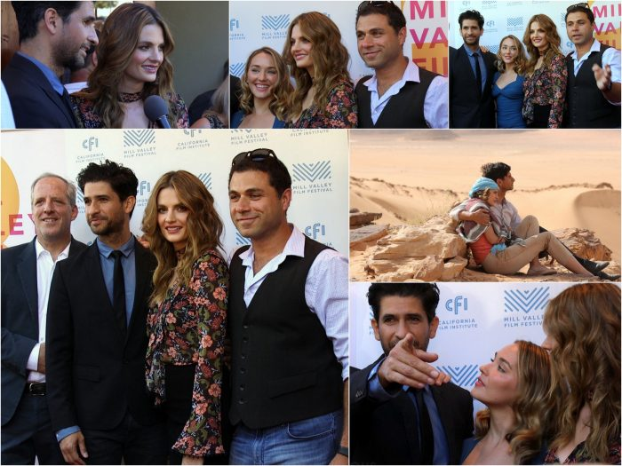 Stana Katic, Raza Jeffrey - The Rendezvous world premiere interview (Video coming soon)
