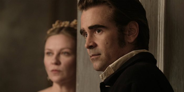 Kirstin Dunst and Colin Farrell in 'The Beguiled' - directed by Sofia Coppola