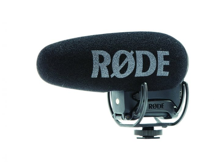 Rode Videomic Pro-R+ On-Camera Shotgun Condenser Microphone