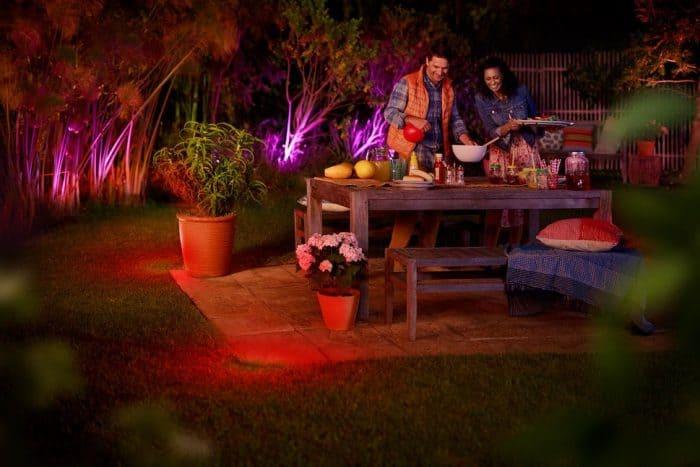 Philips Hue outdoor lights and fixtures