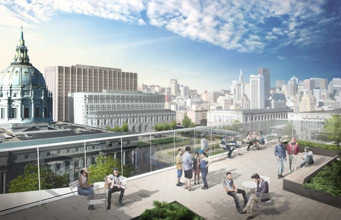 SFCM - Roof Terrace Perspective