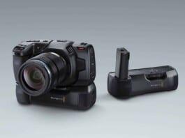 Blackmagic Pocket 4K Battery Grip NAB vs GH5