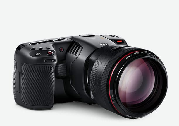 Blackmagic Pocket Cinema Camera 6K specs