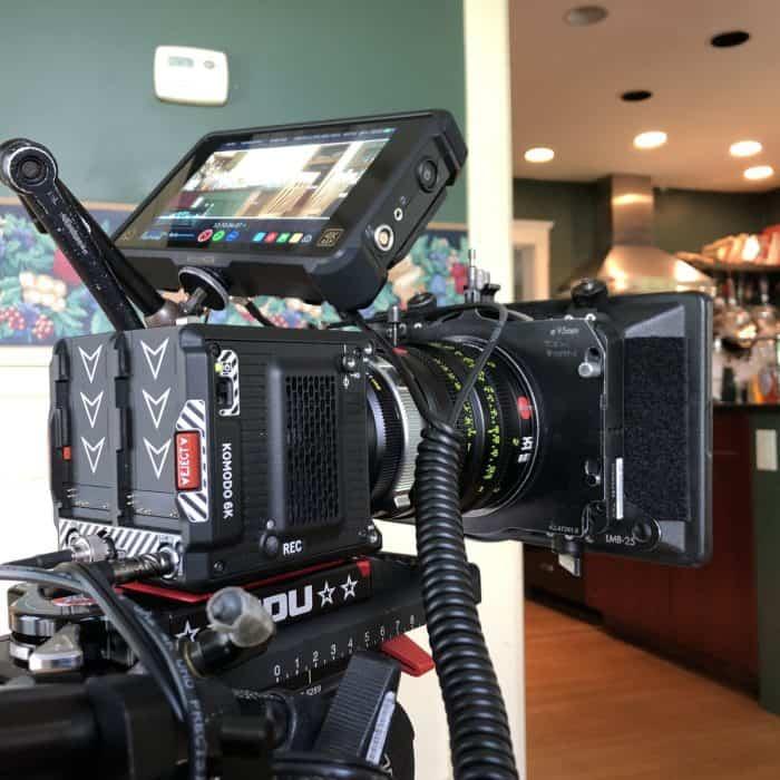 RED Komodo 6K on set of Steven Soderbergh film