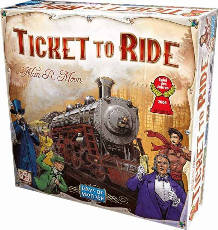 Ticket to Ride by Alan R. Moon - How to enable Alexa