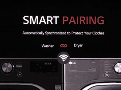 LG ThinQ washer and dryer - Smart Pairing