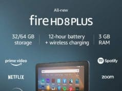"All-new Fire HD 8 Plus tablet, HD display, 64 GB, 8"" tablet for portable entertainment"