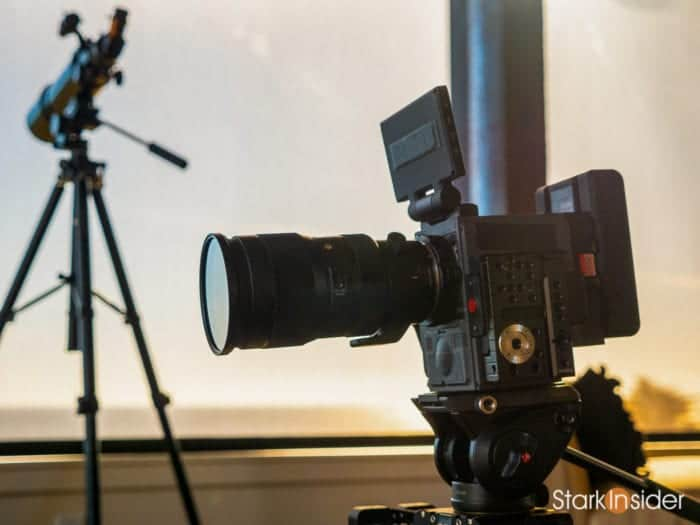 Red Scarlet-W (Dragon) with Sigma 18-35mm F/1.8 ART Telephoto Lens - Clinton Stark