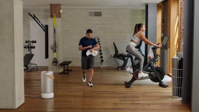 Molekule Air Pro in a Gym - Stark Insider