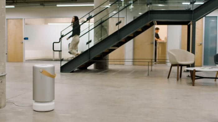 Molekule Air Pro in an Office - Stark Insider