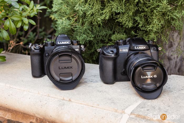 Panasonic S5 vs GH5 comparison size