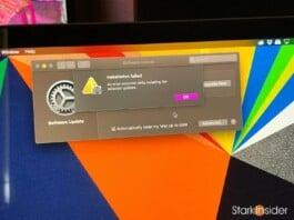 Apple macOS Big Sur installation failed MacBook Pro