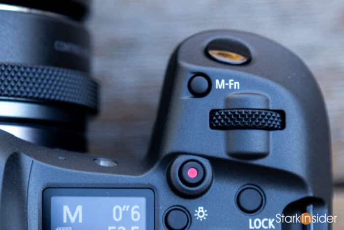 Canon EOS R5 M-Fn Multifunction Button