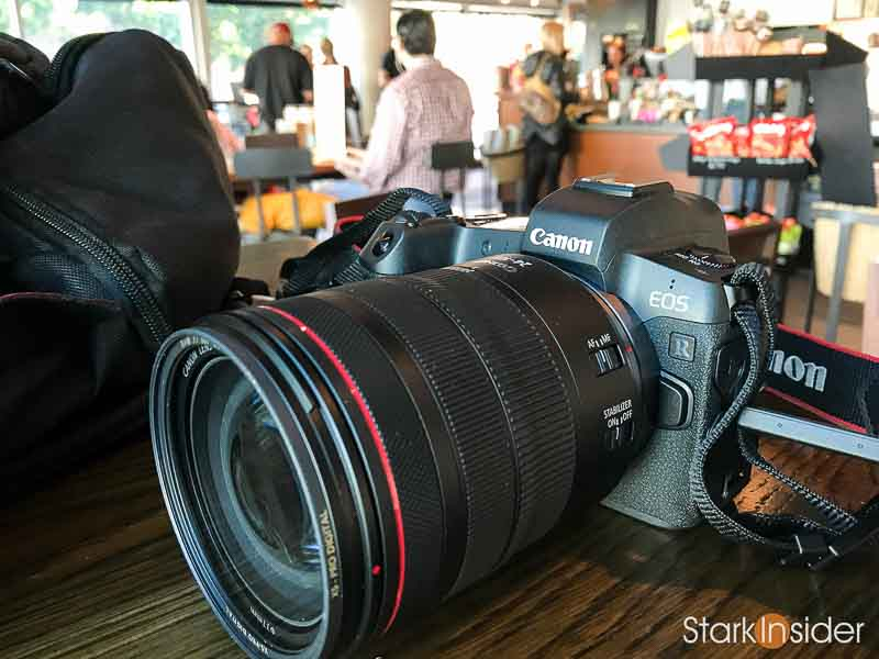 Canon RF-mount camera history timeline