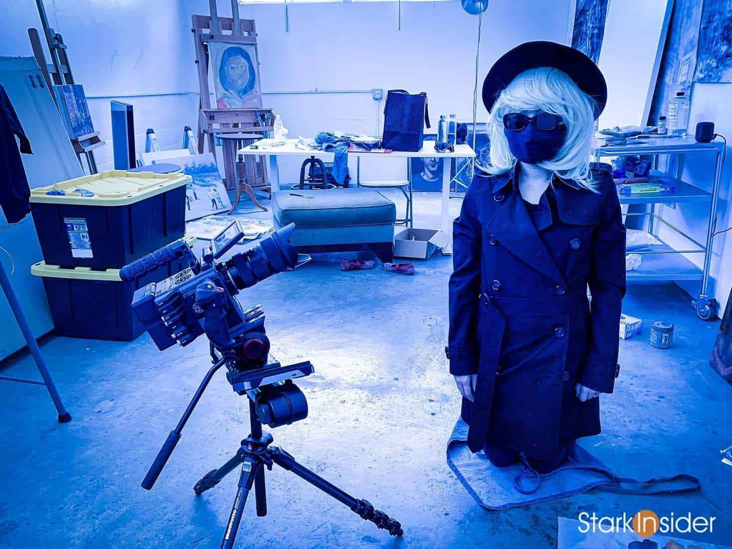 Citadel Art Studios San Jose - Loni-Stark - BTS Iceland Film Project