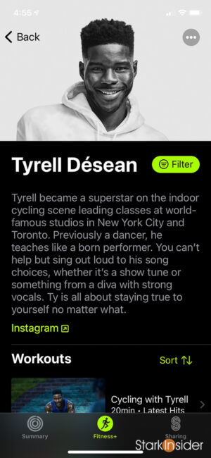 Apple Fitness+ Trainer - Tyrell Désean