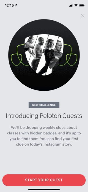 Peloton Quests