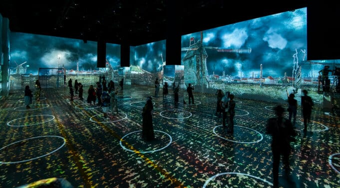 Immersive Van Gogh is an all-new visually-striking achievement that invites audiences to step inside post-Impressionist artist Vincent van Gogh's most incredible works of art