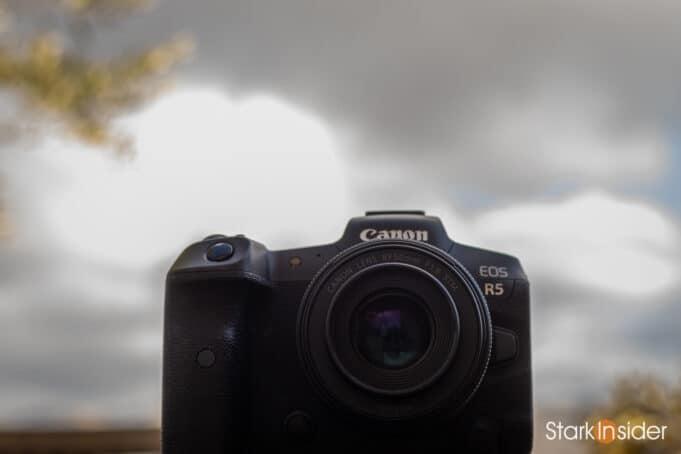 Canon EOS R5 - DXOmark sensor quality score