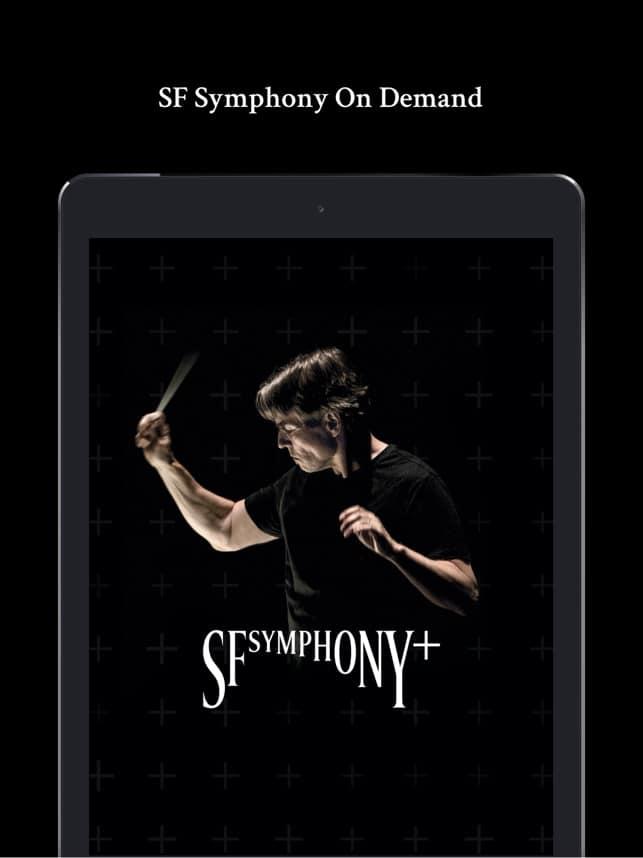 SFSymphony+ app available iPhone iPad Apple TV Android Roku