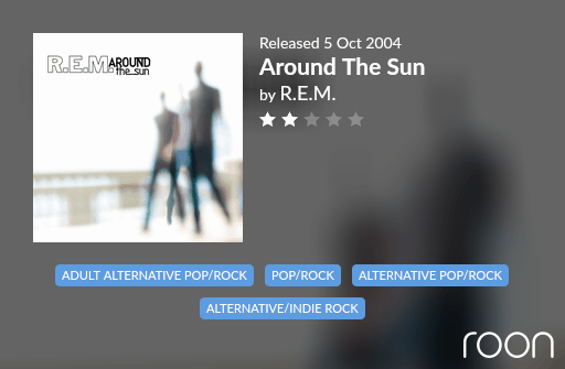 Around The Sun Allmusic Review 2004 REM revisited